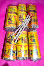 Pack Of 6 Tashi Rope Ritual Incense 100% Natural Hand Made Nepal .