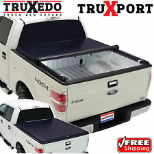 TruXedo TruXport Tonneau RollUp Bed Cover for 15-17 Chevy Colorado GMC Canyon 5'