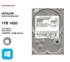 "HITACHI Ultrastar HUA721010KLA330 1TB 3.5"" Internal Hard Drive SATA HDD PC"