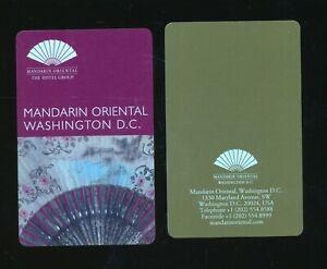 MANDARIN ORIENTAL------Washington,DC--Room Key--K-A