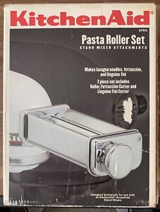 KitchenAid Stand Mixer Attachment 3-Piece Pasta Roller And Cutter Set!
