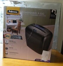 Fellowes Powershred P-35C Paper Shredder Brand New Boxed for Paper, Credit Cards