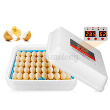 70 Digital Egg Incubator Automatic Hatcher Temperature Control Chicken Birds Us
