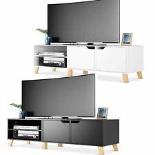 TV Schrank Lowboard TV Möbel Fernsehtisch Fernseher Schrank 140cm Fernsehschrank