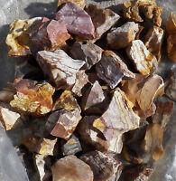 ZEBRA JASPER ROUGH ROCK ROCKS Stones Tumbler tumbling LAPIDARY 1 LB MADAGASCAR