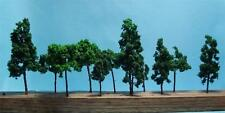 Multi Gauge Use-Model Scenery-Assorted Dark Green Trees-5 Sizes-11 Pieces Total