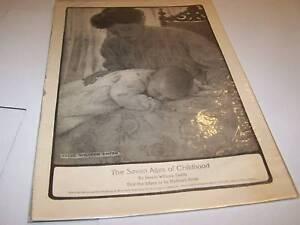 1910s art print - CHILDHOOD - JESSIE WILLCOX SMITH