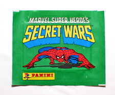 Panini SECRET WARS Unopened Sticker Pack Marvel Super Heroes (1986)