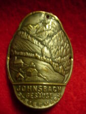 Johnsbach Gesause stocknagel hiking medallion Mount Shield G3447