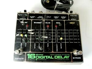Vintage Electro Harmonix 16-Second Digital Delay Effects Pedal Original Issue