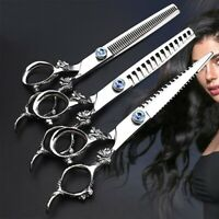Salon Hair Cutting Professional Thinning Barber Shear Scissors Hairdressing Sets