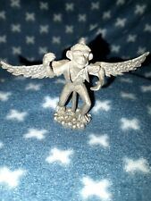 Vintage Pewter Wizard Of Oz Figurine Flying Monkey Comstock 6227 Cci