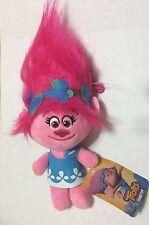 """NWT Poppy Troll 9"""" 23cm Trolls Stuffed Plush Toy Animal DreamWorks"""