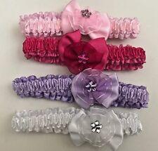 4pcs Baby Girls Cute Headband, Hand Accessories/Infant Toddler Flower Headband