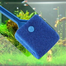 Aquarium Fish Tank Algae Cleaner Glass Plant Easy 2 Head Cleaning Brush BN