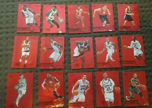 15 x Upper Deck Fleer Retro Precious Metal Gems NBA basketball card #150 - OMG