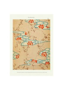 Japanese 1902 Art Pattern Print Shin-Bijutsukai Giclee Zen River Poster