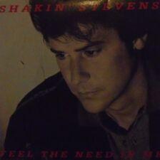 """SHAKIN STEVENS - Feel The Need In Me ~ 7"""" Single PS"""