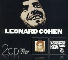 Leonard Cohen - Songs of Leonard Cohen & Songs of Love & Hate [New CD] Portugal