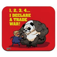 Donald Trump Trade War China Panda Low Profile Thin Mouse Pad Mousepad