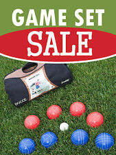 "Game Set Sale Sporting Goods Retail Display Sign, 18""w x 24""h, Full Color"