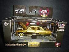 M2 Ford Crestliner 1951 Gold 1/64 32500-41 SUPER CHASE LTD 250 units