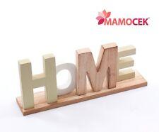 Lettere Di Legno Da Appendere : Targhe e cartelli per la decorazione della casa acquisti online su