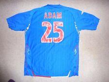 "Größe: XL "" Adams 63.5cm Glasgow Rangers Fußballtrikot Rangers FC Fußballjersey"