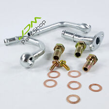For Subaru TD05 TD06 Water Turbocharger Complete Install Kit +O Rings+Pipe+Bolt