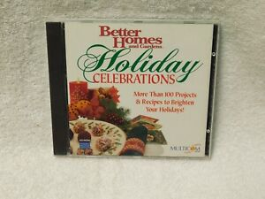 Better Homes & Garden Holiday Collection Cd Rom Computer Program