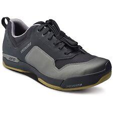 34376a97377 Specialized 2FO ClipLite Lace Mountain Bike Shoes Black Gum 43.5 10.25