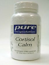 Pure Encapsulations - Cortisol Calm - Stress - Anxiety - 120 Capsules - New