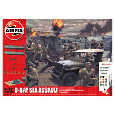 Airfix D-Day Sea Assault Diorama Model Kit Gift Set - Scale 1:72 - A50156A