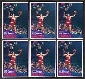 Lot of 6: 1981 Topps BILL LAIMBEER Rookie Cards #74 ~ NM-MT o/c ~ INVEST ~