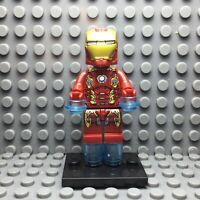 Iron Man Custom Minifigure Marvel Comics New LEGO Compatible
