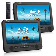"New listing 10.1"" Blu Ray Dual Screen Car Headrest Dvd Players Moniter Hdmi Dolby Audio Usb"