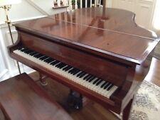 Antique Steinway Baby Grand Piano- Model M - Mahogany-1914