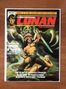 Savage Sword of Conan #44, VF- Marvel UK, 1981