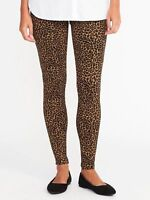 Womens jeggings Leopard print Ponte Knit Stevie stretch $30 price tag New tags