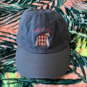 FUNNY CIDE Horse Racing Stable Hat Cap