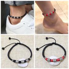Nice Women Ladies Anklet Red Silver Ankle Bracelet Festival Beach Jewellery Al76 Anklets