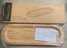 PAMPERED CHEF ~ Bamboo Cracker Tray #2247  - NEW in Original Package