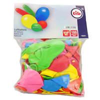 100 Stück Luftballons in verschiedenen Farben Größen und Formen Helium geeignet