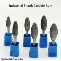 Industrial 6mm Shank Carbide Burr 6-16mm Dia Rotary Tools Tungsten Carbide AU