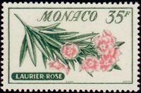 "MONACO STAMP TIMBRE N° 519 "" FLEURS , LAURIER ROSE 30 F "" NEUF xx TTB"
