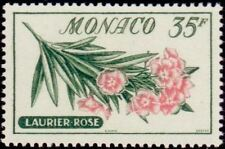 "MONACO STAMP TIMBRE N° 519 "" FLEURS , LAURIER ROSE 30 F "" NEUF xx TTB"