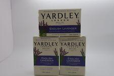 Yardley  English Lavender Soap 120g Each 3 x