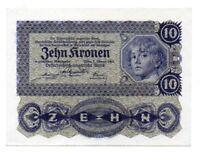 Billete AUSTRIA  10 Kronen 1922   serie 1071 sin circular  Ref.192