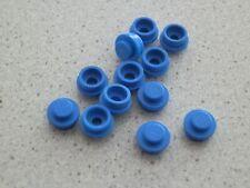 Lego 4073 # 12x Stein rund 1x1 blau 7675 4483