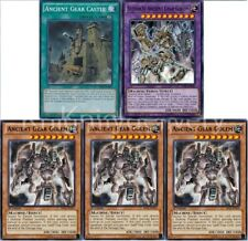 Authentic Vellian Crowler Deck - Ultimate Ancient Gear Golem 42 Cards Yugioh NM